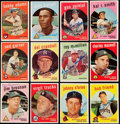 Autographs:Sports Cards, Signed 1959 Topps Baseball Card Collection (21). ...