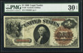 Large Size:Legal Tender Notes, Fr. 28 $1 1880 Legal Tender PMG Very Fine 30 EPQ.