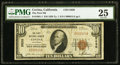 National Bank Notes:California, Covina, CA - $10 1929 Ty. 1 The First NB Ch. # 5830. ...