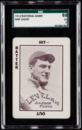 Baseball Cards:Singles (Pre-1930), 1913 National Game Napoleon Lajoie SGC 60 EX 5....