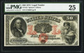 Large Size:Legal Tender Notes, Fr. 152 $50 1874 Legal Tender PMG Very Fine 25....