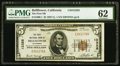 National Bank Notes:California, Bellflower, CA - $5 1929 Ty. 1 The First NB Ch. # 12328. ...