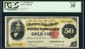 Large Size:Gold Certificates, Fr. 1196 $50 1882 Gold Certificate PCGS Very Fine 30.. ...