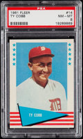 Baseball Cards:Singles (1960-1969), 1961 Fleer Ty Cobb #14 PSA NM-MT 8. . ...