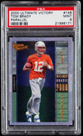 Football Cards:Singles (1970-Now), 2000 Ultimate Victory Tom Brady #146 PSA Mint 9....