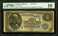 National Bank Notes:California, Covina, CA - $5 1882 Value Back Fr. 574 The First NB Ch. # (P)5830. ...