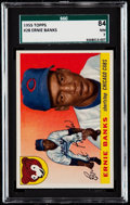 Baseball Cards:Singles (1950-1959), 1955 Topps Ernie Banks #28 SGC 84 NM 7....