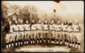 Baseball Cards:Singles (1930-1939), Circa 1930's House of David Real Photo Post Card. ...