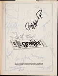 Football Collectibles:Programs, 1968 Green Bay Packers Team Signed Program with Vince Lombardi. ...