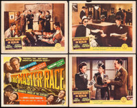 "Appointment in Berlin & Other Lot (Columbia, 1943). Lobby Cards (3) & Title Card (11"" X 14""). War..."