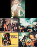 "Movie Posters:Science Fiction, Blade Runner (Warner Brothers, 1982). Deluxe Title Lobby Card,Deluxe Lobby Cards (4) (11"" X 14""), Deluxe Mini Lobby Cards (...(Total: 13 Items)"