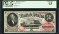 Large Size:Legal Tender Notes, Fr. 46 $2 1875 Legal Tender PCGS Choice New 63....