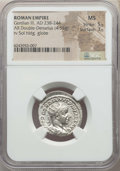 Ancients:Ancient Lots , Ancients: ANCIENT LOTS. Roman Imperial. Gordian III (AD 238-244).Lot of two (2) AR antoniniani. NGC MS 5/5 - 3/5.... (Total: 2coins)
