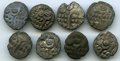 Ancients:Ancient Lots , Ancients: ANCIENT LOTS. Celtic. Britain. Durotriges. Ca. 60-20 BC.Lot of eight (8) BI staters. VF-XF.... (Total: 8 coins)