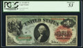 Large Size:Legal Tender Notes, Fr. 18 $1 1869 Legal Tender PCGS About New 53....