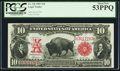 Large Size:Legal Tender Notes, Fr. 118 $10 1901 Legal Tender PCGS About New 53PPQ.