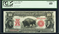 Large Size:Legal Tender Notes, Fr. 117 $10 1901 Legal Tender PCGS Extremely Fine 40.. ...