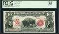 Large Size:Legal Tender Notes, Fr. 114 $10 1901 Legal Tender PCGS Very Fine 35.. ...