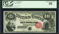 Large Size:Legal Tender Notes, Fr. 113 $10 1880 Legal Tender PCGS Choice About New 58.
