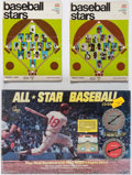 Baseball Cards:Sets, 1968 Cadaco Baseball Game & 1969 Baseball Stars PhotostampsComplete Set In Albums. ...