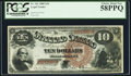 Large Size:Legal Tender Notes, Fr. 101 $10 1880 Legal Tender PCGS Choice About New 58PPQ....
