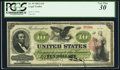 Large Size:Legal Tender Notes, Fr. 94 $10 1862 Legal Tender PCGS Very Fine 30.