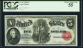 Large Size:Legal Tender Notes, Fr. 82 $5 1880 Legal Tender PCGS Choice About New 55.