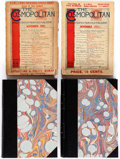 Magazines:Miscellaneous, The Cosmopolitan Bound Volumes Group of 2 (Irvington-on-the-Hudson,1887-1903).... (Total: 4 Items)