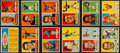 Football Cards:Sets, 1957 Topps Football Near Set (121/154) With All Three Rookies Plus Checklist. ...