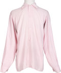Music Memorabilia:Costumes, George Harrison Pink Shirt Worn on Stage at the Cavern Club (UK, Circa 1961-1963)....