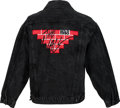 Music Memorabilia:Costumes, Pink Floyd The Wall Berlin Tour Jacket (1990)....