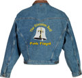 Music Memorabilia:Costumes, Pink Floyd The Division Bell Promo Tour Jacket (Circa 1994)....