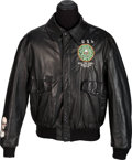 Music Memorabilia:Costumes, Rush Roll The Bones World Tour Crew Jacket (Circa 1991-1992)....
