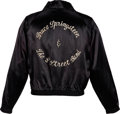 Music Memorabilia:Costumes, Bruce Springsteen and The E Street Band Tour Jacket (Circa Late 1970's-Early 1980's)....
