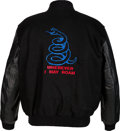 Music Memorabilia:Costumes, Metallica Wherever I May Roam Tour crew Jacket (Circa 1991-1992)....
