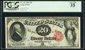 Large Size:Legal Tender Notes, Fr. 144 $20 1880 Legal Tender PCGS Very Fine 35.