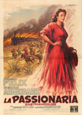 "Movie Posters:Drama, The Hidden One (Columbia, 1956). Italian 4 - Fogli (55"" X 78"")Anselmo Ballester Artwork.. ..."