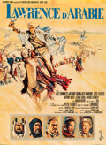 """Movie Posters:Academy Award Winners, Lawrence of Arabia (Columbia, 1963). Full-Bleed French Grande (45"""" X 63"""").. ..."""