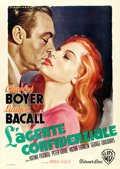 "Movie Posters:Drama, Confidential Agent (Warner Brothers, 1946). Italian 4 - Fogli (55""X 77"") Luigi Martinati Artwork.. ..."