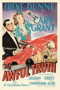 "Movie Posters:Comedy, The Awful Truth (Columbia, 1937). One Sheet (27"" X 41"") Style A....."