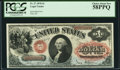 Large Size:Legal Tender Notes, Fr. 27 $1 1878 Legal Tender PCGS Choice About New 58PPQ.
