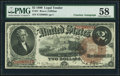 Large Size:Legal Tender Notes, Fr. 51 $2 1880 Legal Tender PMG Choice About Unc 58.