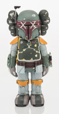 Fine Art - Sculpture, American:Contemporary (1950 to present), KAWS (American, b. 1974). Boba Fett, 2013. Painted castvinyl. 11 x 5 x 4 inches (27.9 x 12.7 x 10.2 cm). Stamped to the...
