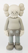 Collectible, KAWS (American, b. 1974). Companion-Five Years Later (Grey), 2004. Painted cast vinyl. 14-3/4 x 6-3/4 x 3-3/4 inches (37...