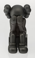 Fine Art - Sculpture, American:Contemporary (1950 to present), KAWS (American, b. 1974). Companion-Passing Through (Black),2013. Painted cast vinyl. 11-1/2 x 6-1/2 x 7-1/2 inches (29...