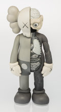 Fine Art - Sculpture, American:Contemporary (1950 to present), KAWS (American, b. 1974). Dissected Companion (Grey), 2006.Painted cast vinyl. 14-3/4 x 5-1/2 x 3-1/2 inches (37.5 x 14...