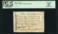 Colonial Notes:North Carolina, North Carolina December, 1771 £2 PCGS Apparent About New 53.. ...