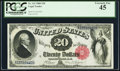 Large Size:Legal Tender Notes, Fr. 143 $20 1880 Legal Tender PCGS Extremely Fine 45.