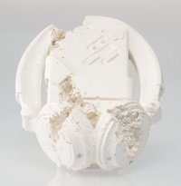 Daniel Arsham (American, b. 1980) Cassette Player (FR-07), 2017 Plaster with glass fragments 5-3/