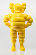 Fine Art - Sculpture, American:Contemporary (1950 to present), KAWS (American, b. 1974). Chum (Yellow), 2002. Painted castresin. 13 x 8 x 3 inches (33.0 x 20.3 x 7.6 cm). Ed. 463/500...